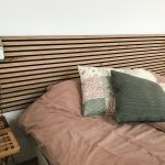 Headboard from Rustic Natural Oak